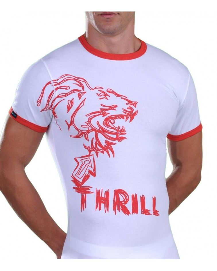 Men T-Shirt, print Thrill