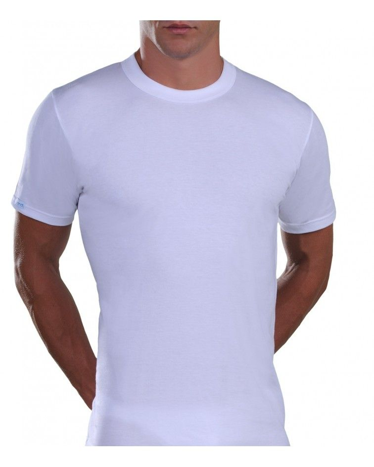 T-Shirt, Cotton, white