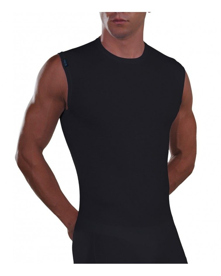 Sleeveless Micromodal, T-Shirt