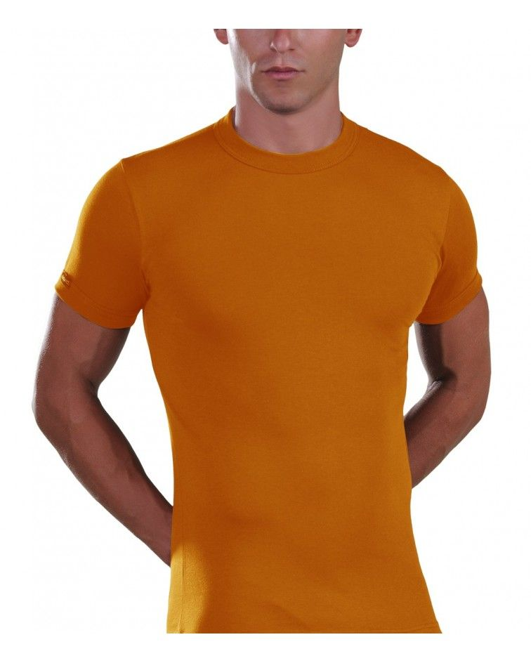 Men, T-Shirt, Elastic, orange