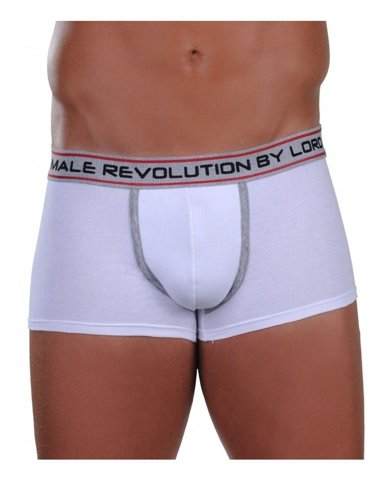 BOXER SHORT REVOLUTION, white