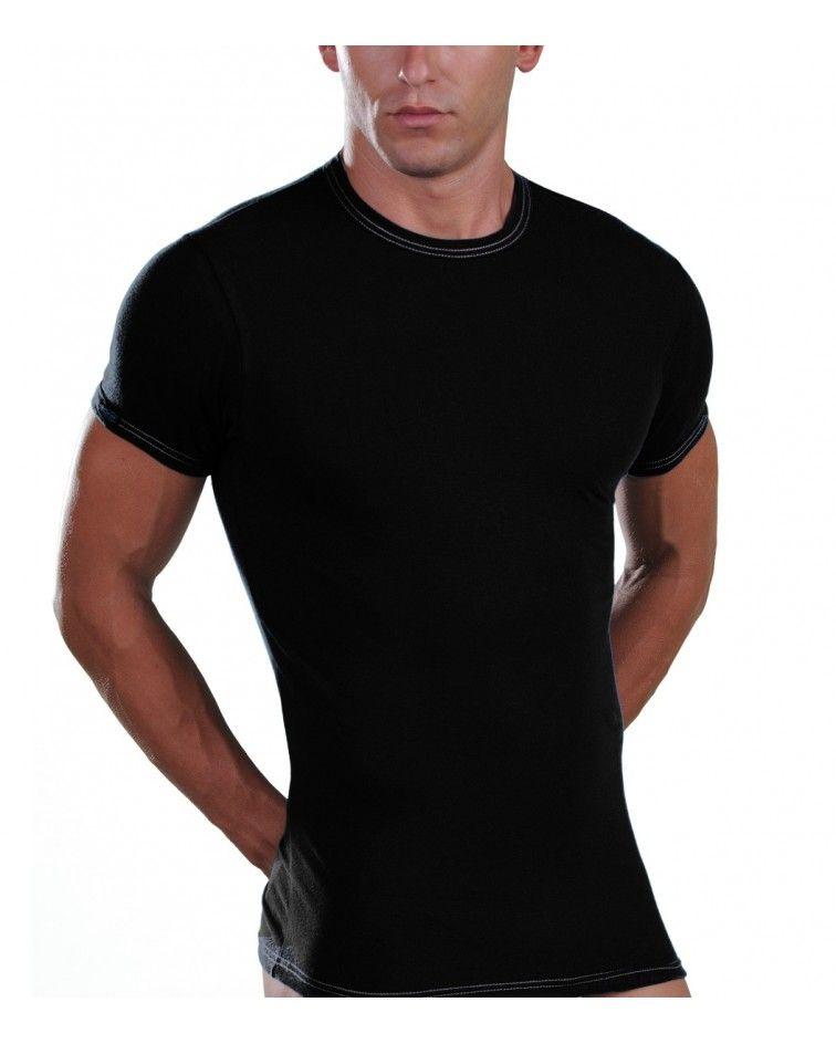 Φανελα jeans, μαύρο