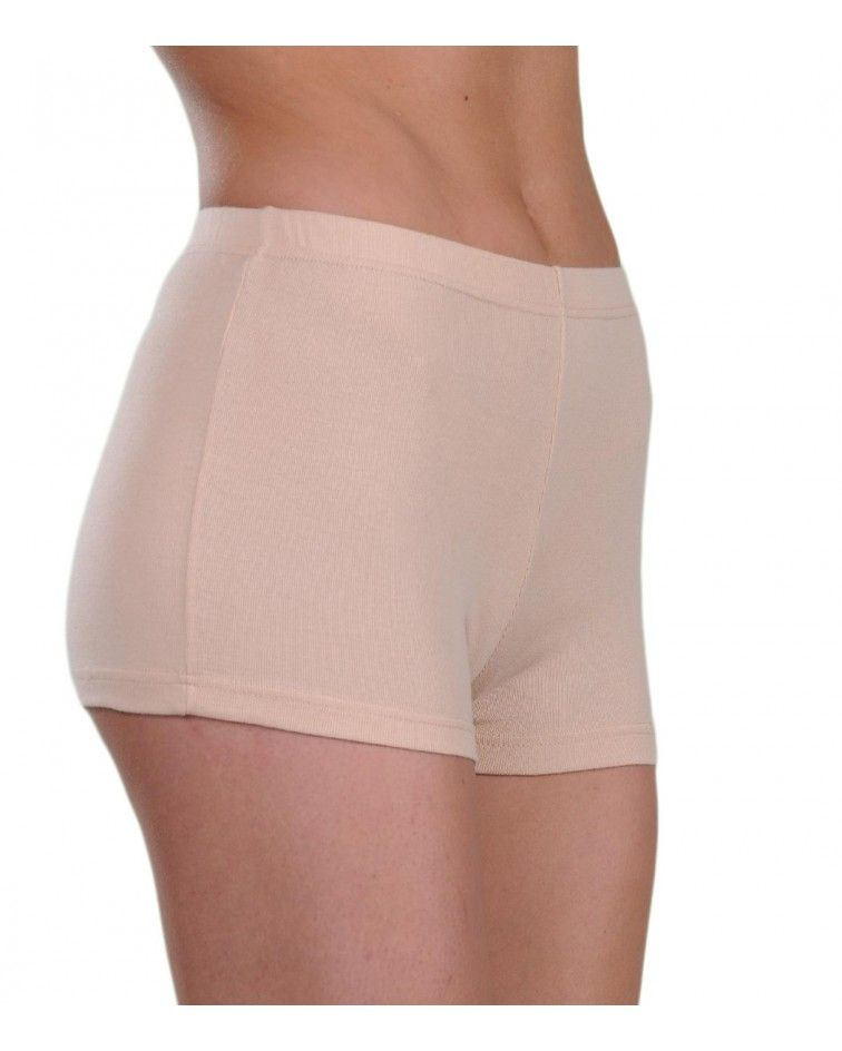women boxer cotton, beige