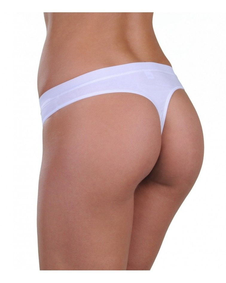 Panty, string, white-back