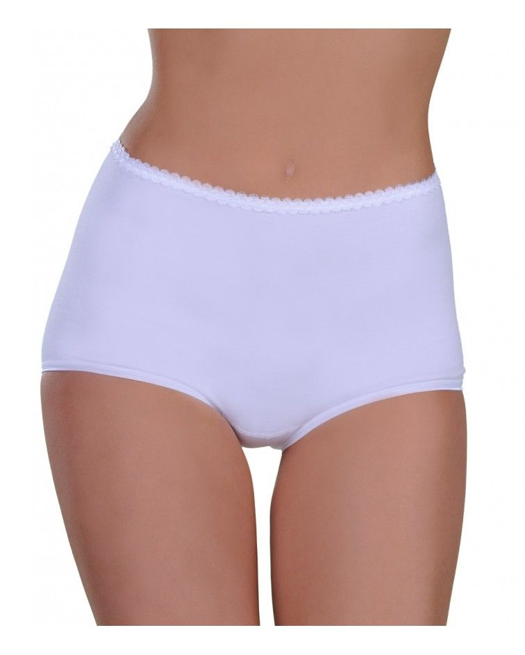 Women panty MAXI, white