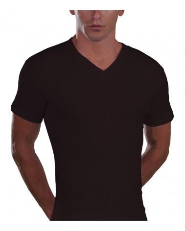 V Neck T-Shirt, XS