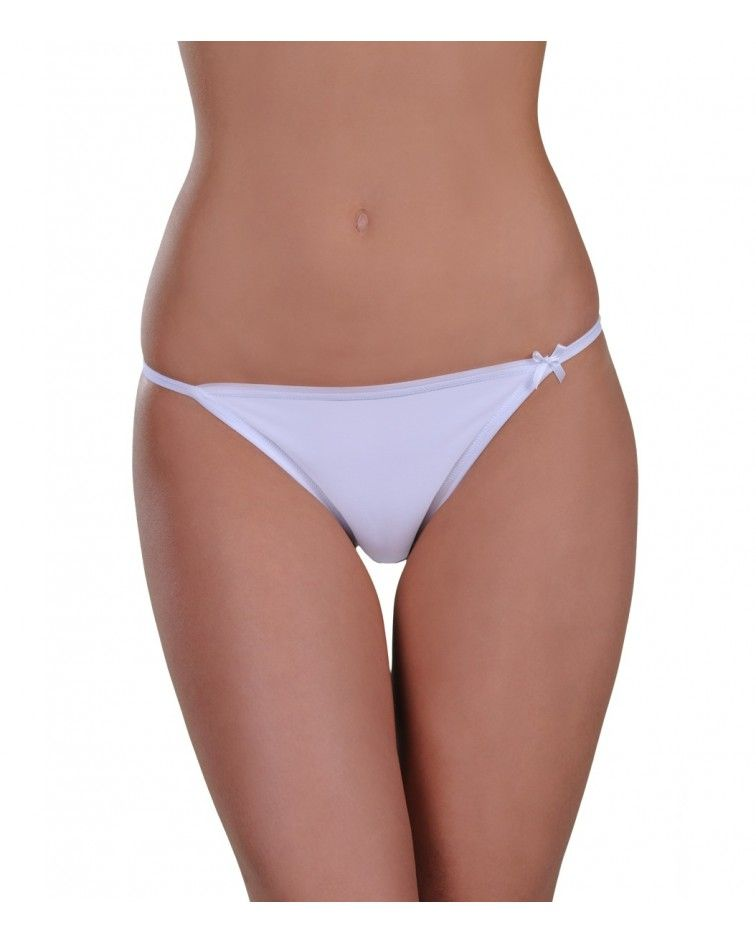 Panty, tanga, white