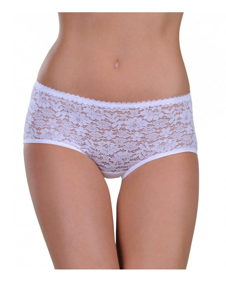 Panty, mide, lace