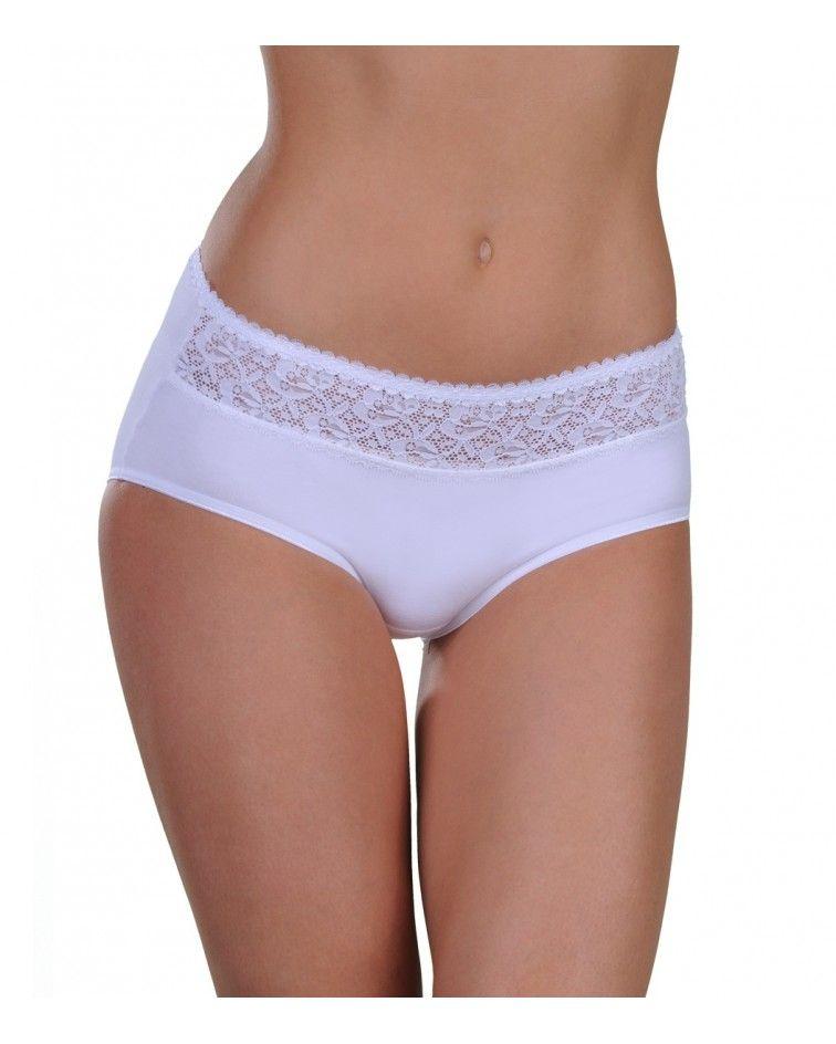 Panty mini, lace strip