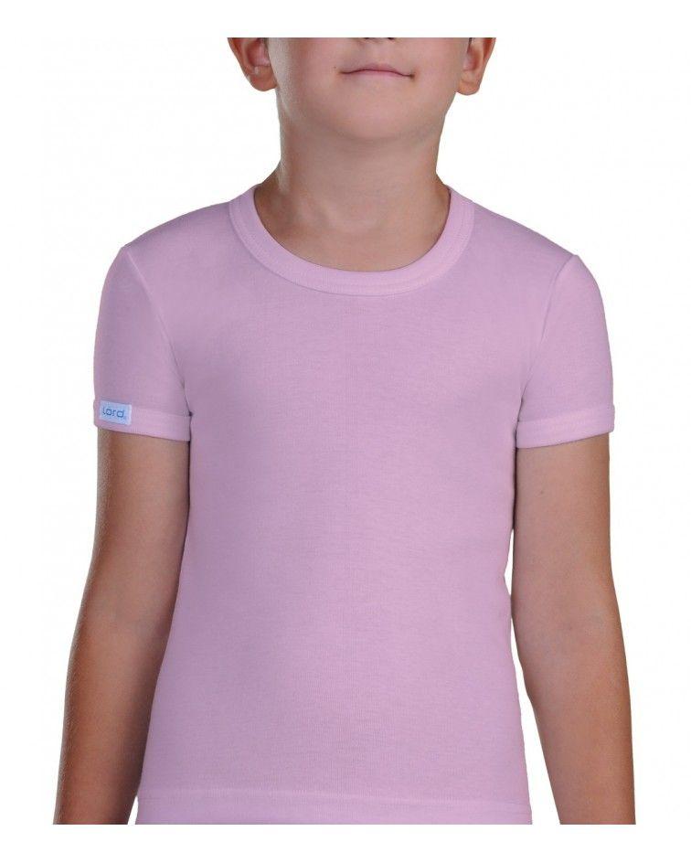 Φανέλα Ανοιχτός λαιμός, ροζ