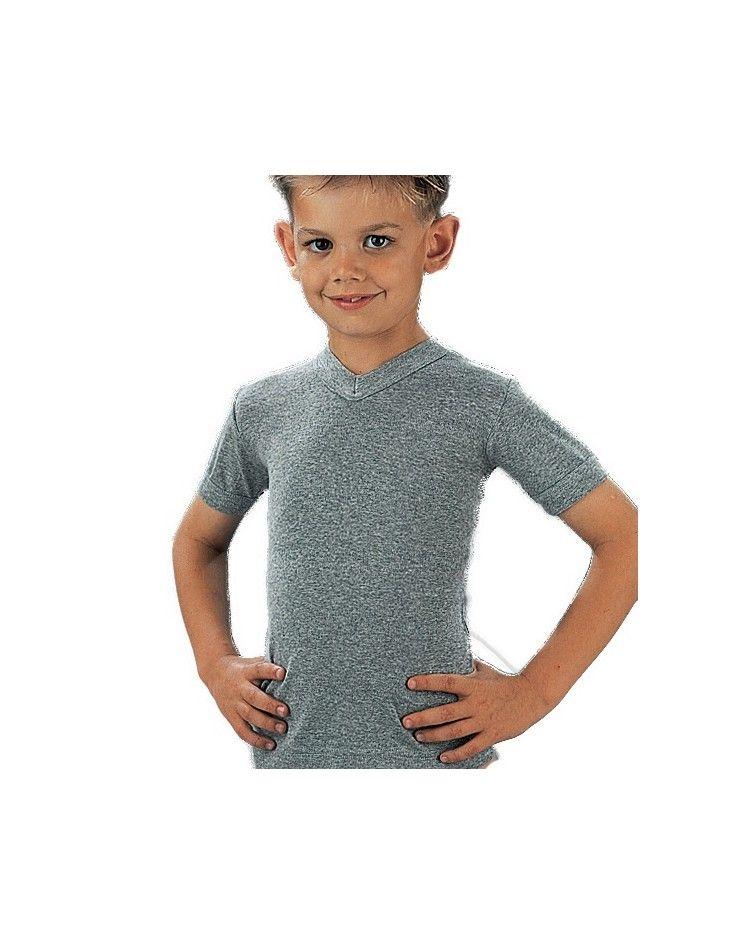 Camisole, v neck, melanze