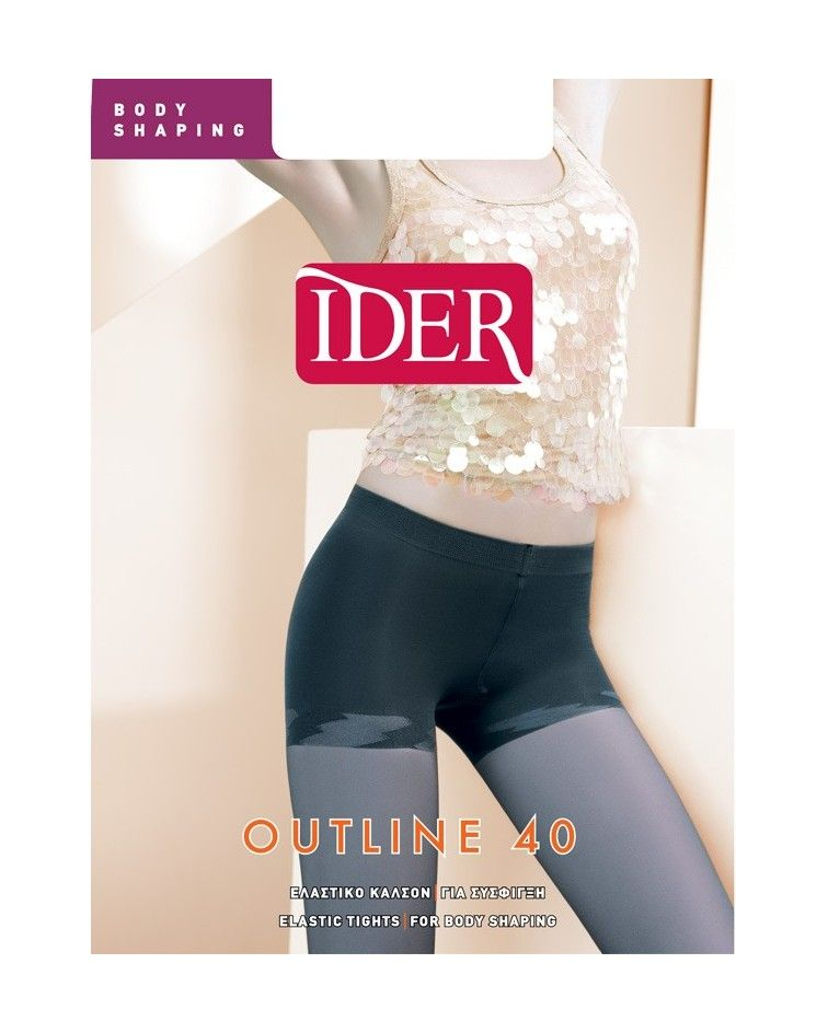 IDER OUTLINE 40DEN ΚΑΛΣΟΝ BODY SHAPING