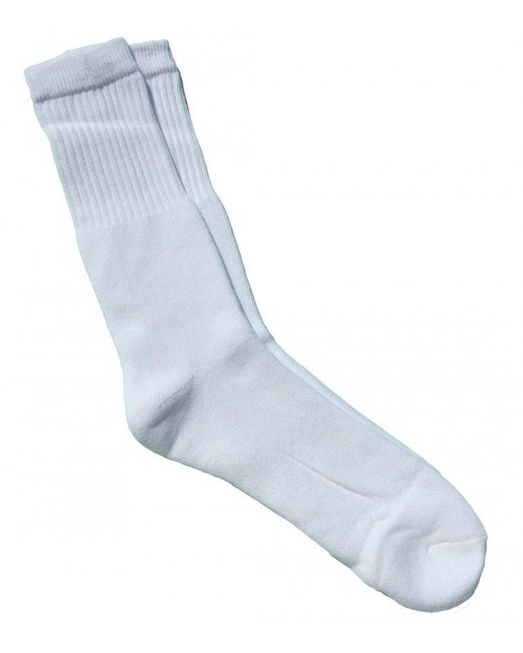 Κάλτσα Αθλητική, Λευκή