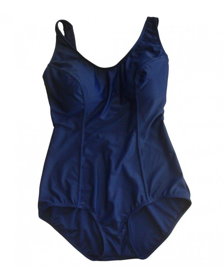Women, swimwear, body, blue