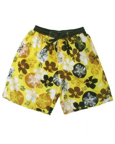 Swimwear yellow flower