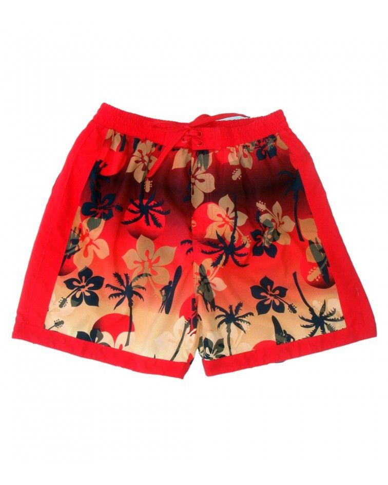 Swimwear red hawaii