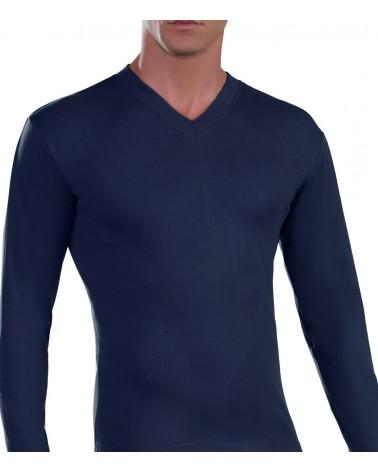 T-Shirt Long Sleeve, V Neck, 13-14-15yrs