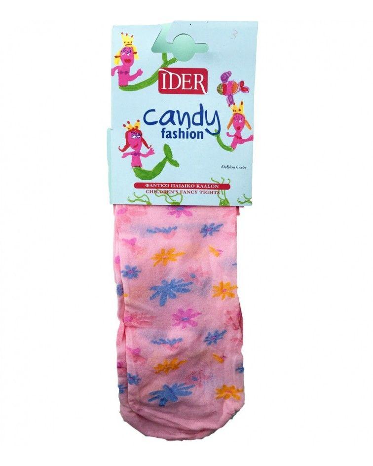IDER Καλσόν, ροζ λουλούδια
