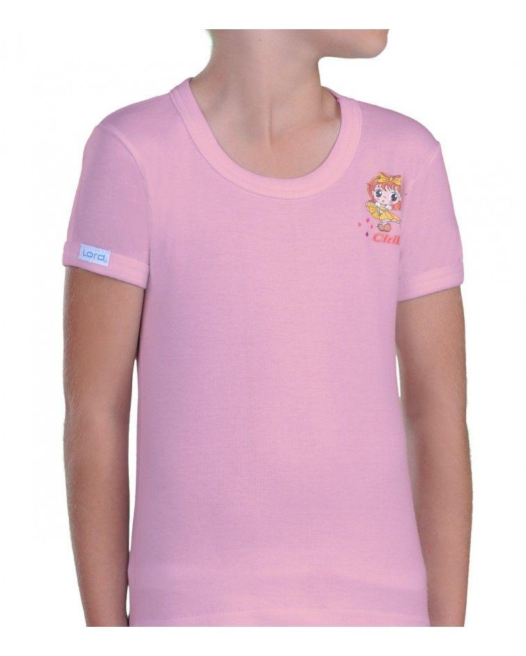 Φανέλα, ΚΜ, στάμπα, ροζ