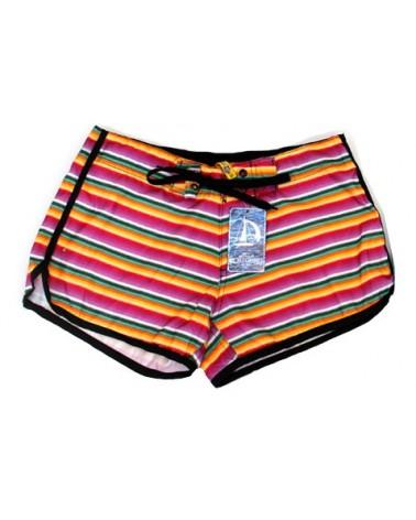 Swimwear shorts, stripes