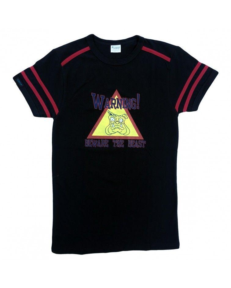 T-shirt beast, black
