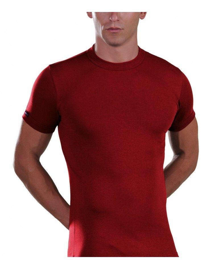 T-Shirt, crew neck, chaki