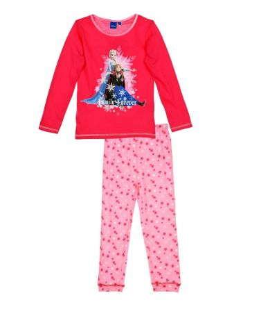 FROZEN Children Pyjama, winter, fuxia