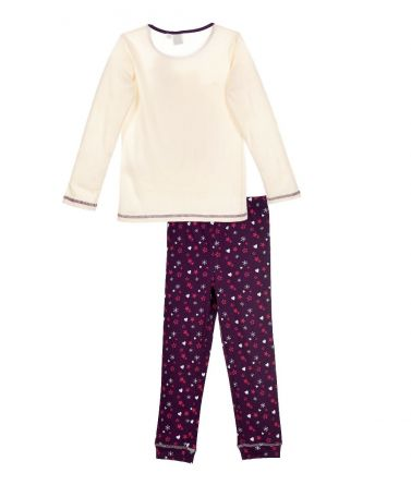 FROZEN Children Pyjama, winter, Cream
