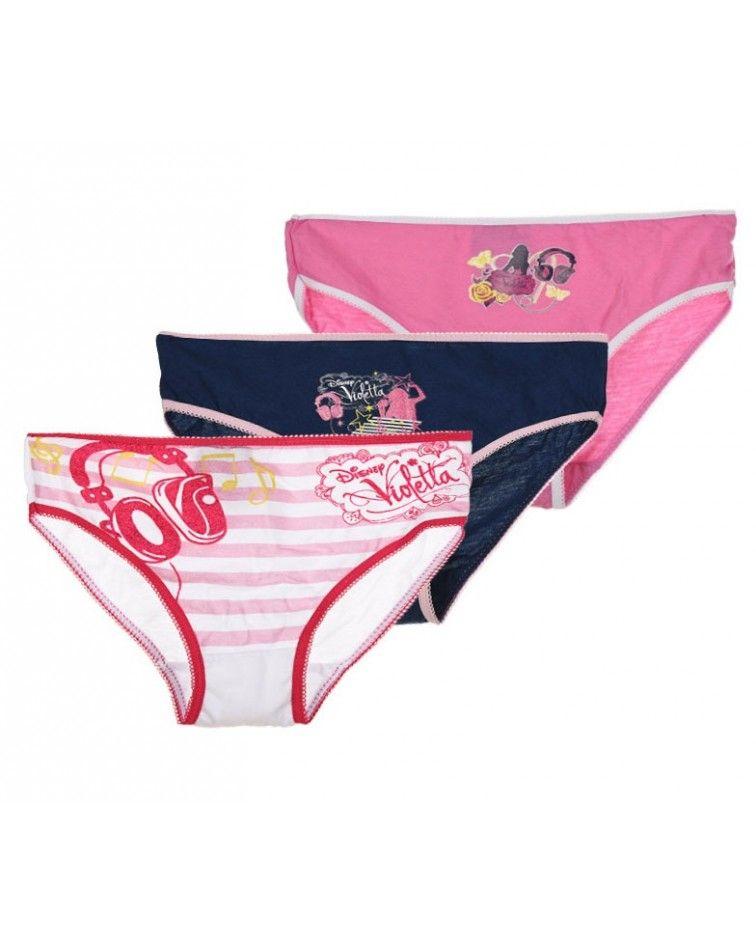 Disney Violetta set 3 panty