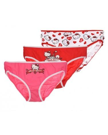 Hello Kitty Children panty, set 3 pieces