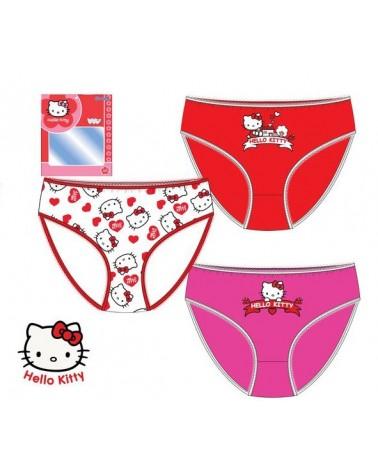 Hello Kitty Παιδική κυλότα Κυλότα, σετ 3 τεμάχια