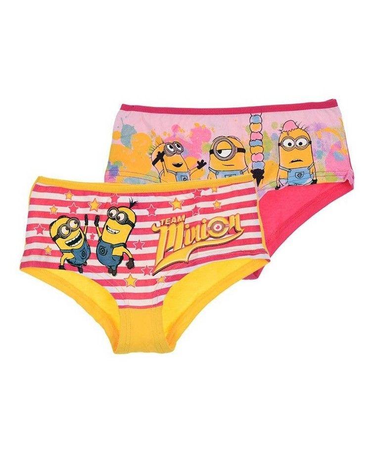 Minions Set 2 boxer shorts, Fuxia