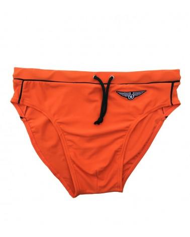 Men Swimwear brief, orange