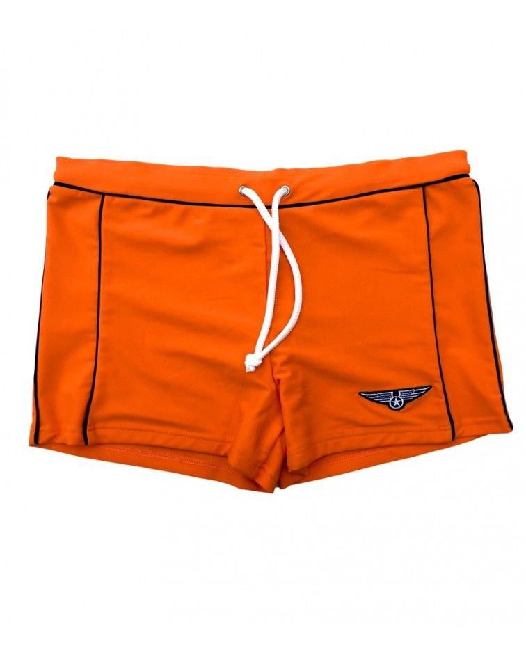Men Swimwear boxer, orange