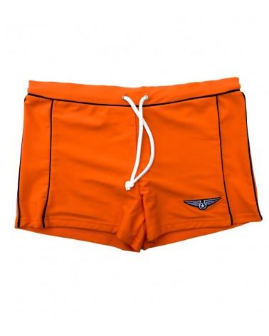 Men Swimwear boxer, orange