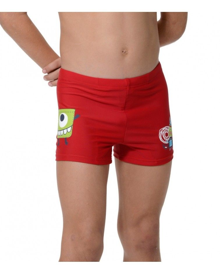 Swimwear boxer, red