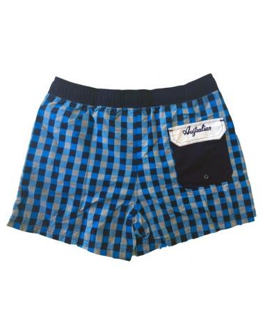 Men Swimwear, shorts, blue