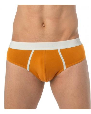Brief, elastic, orange
