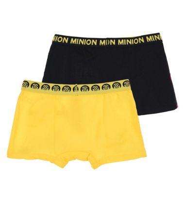Αγοριών 2 Minios boxers, κίτρινο