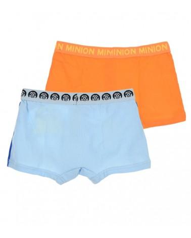 Αγοριών 2 Minios boxers, σιέλ