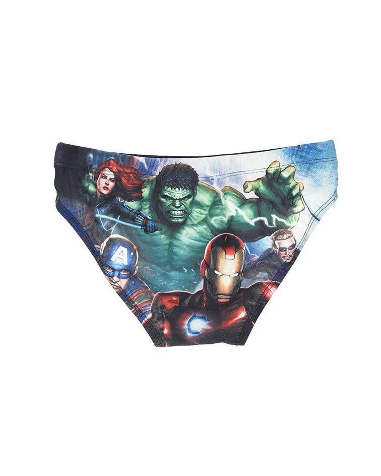 Children swimwear, avengers, blue