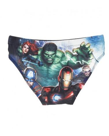 Children swimwear, avengers, blue