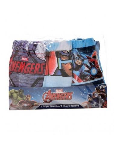 Αγοριών Avengers σλιπ σετ 3 τεμαχίων