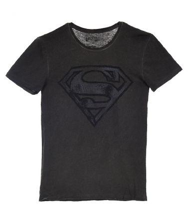 Ανδρική Μπλούζα Superman, ανθρακί