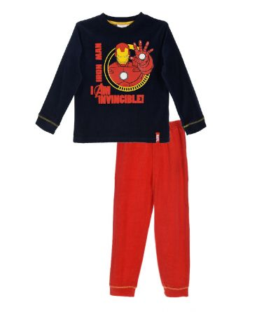 Boys Pyjama winter Iron Man