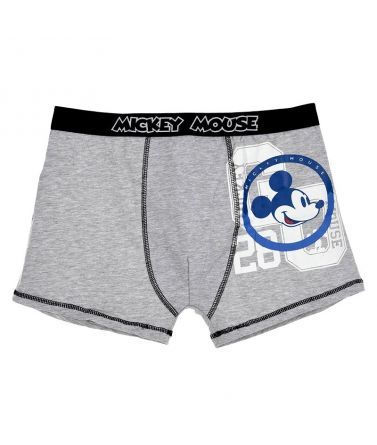 Men boxer, mickey mouse, grey