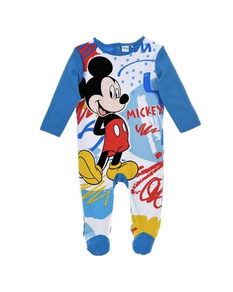 Βρεφικό Κορμάκι Mickey Mouse, μπλε