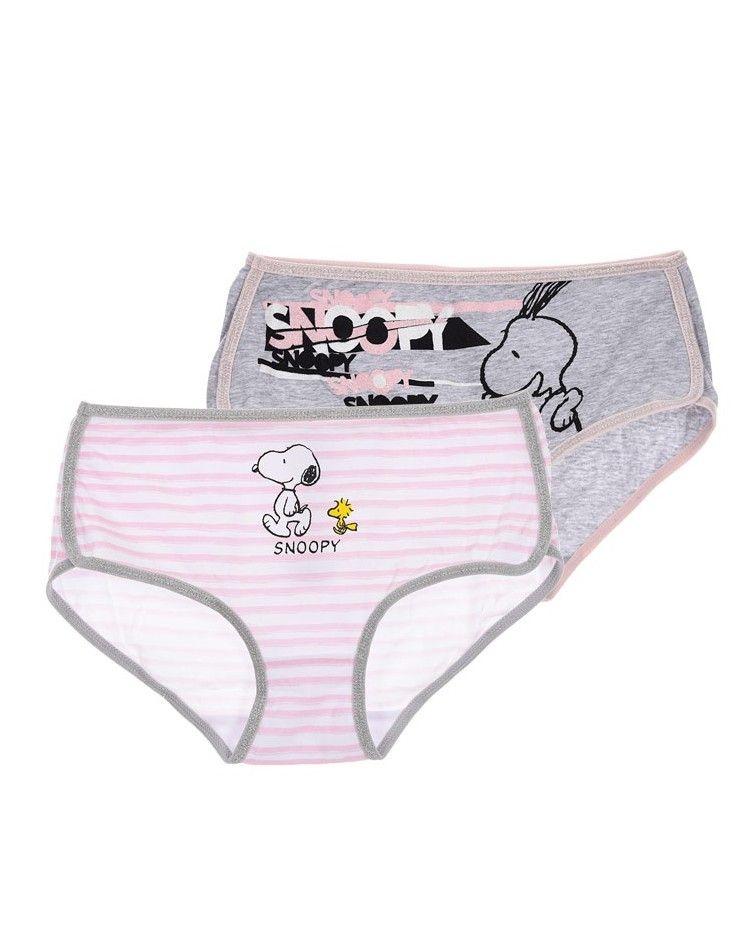 Κοριτσιών Snoopy Set 2 κυλοτάκια
