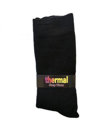 Κάλτσα Θερμική, Μαύρη