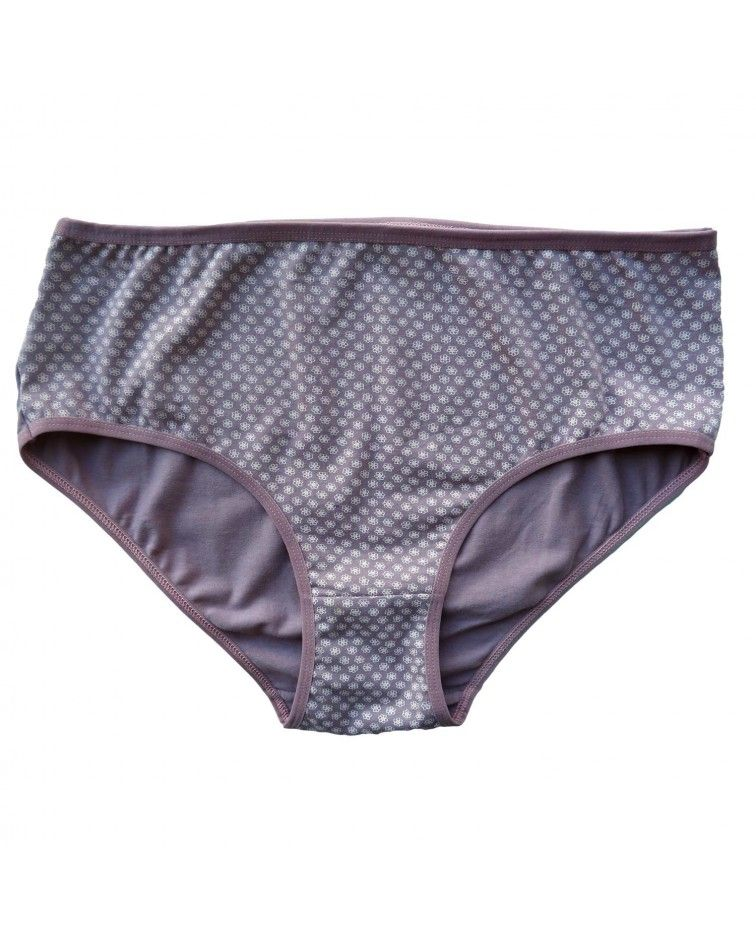 Women panty, extra large sizes, brown